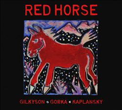 LUCY KAPLANSKY - Red Horse (with Eliza Gilkyson) CD album cover