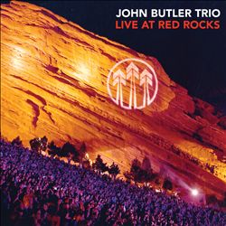 THE JOHN BUTLER TRIO - Live At Red Rocks CD album cover