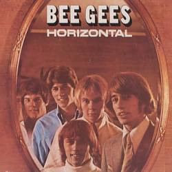 Bee Gees - Horizontal CD (album) cover