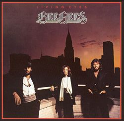 Bee Gees - Living Eyes CD (album) cover