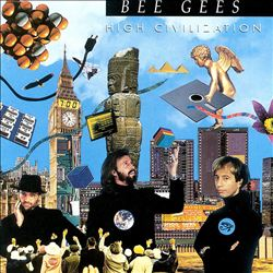 Bee Gees - High Civilization CD (album) cover