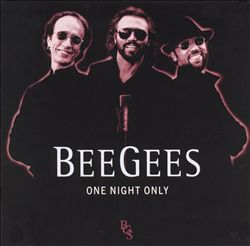 Bee Gees - One Night Only CD (album) cover