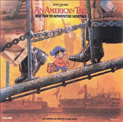 James Horner - An American Tail CD (album) cover