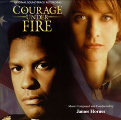 James Horner - Courage Under Fire CD (album) cover
