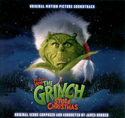 James Horner - The Grinch CD (album) cover