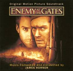 James Horner - Enemy At The Gates CD (album) cover