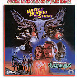 JAMES HORNER - Battle Beyond The Stars / Humanoids From The Deep CD album cover