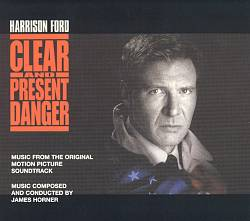 James Horner - Clear And Present Danger CD (album) cover
