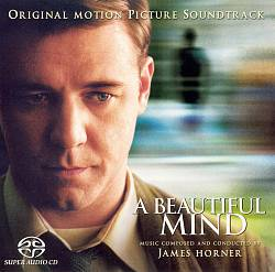 James Horner A Beautiful Mind CD album cover