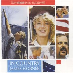 JAMES HORNER - In Country CD album cover