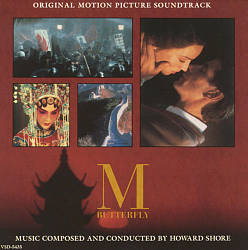 Howard Shore M Butterfly CD album cover