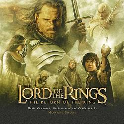 HOWARD SHORE - The Lord Of The Rings: The Return Of The King CD album cover