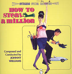 John Williams - How To Steal A Million CD (album) cover