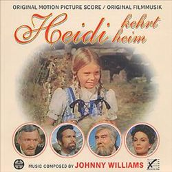 John Williams - Heidi Kehrt Heim CD (album) cover