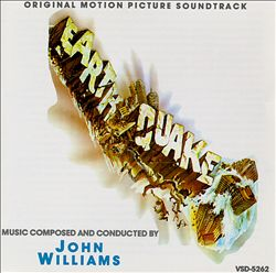 John Williams - Earthquake CD (album) cover