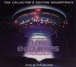 John Williams - Close Encounters Of The Third Kind CD (album) cover