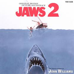 John Williams - Jaws 2 CD (album) cover