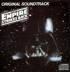 John Williams - Star Wars: The Empire Strikes Back CD (album) cover