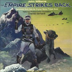 John Williams - Star Wars: The Empire Strikes Back: Symphonic Suite From The Original Score CD (album) cover