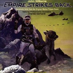 John Williams - The Empire Strikes Back CD (album) cover