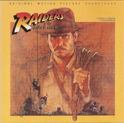 John Williams - Raiders Of The Lost Ark CD (album) cover