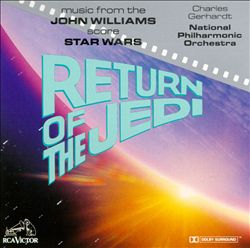John Williams - Star Wars: Return Of The Jedi CD (album) cover