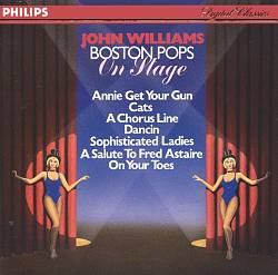 John Williams - Boston Pops On Stage CD (album) cover