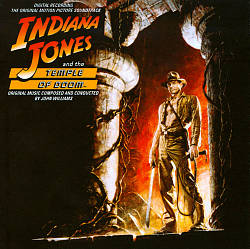 John Williams - Indiana Jones And The Temple Of Doom CD (album) cover