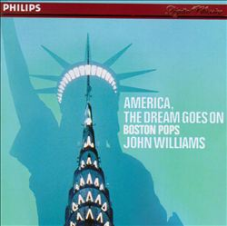 John Williams - America The Dream Goes On CD (album) cover