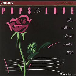 John Williams - Pops In Love CD (album) cover