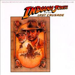 John Williams - Indiana Jones And The Last Crusade CD (album) cover