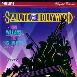 John Williams - Salute To Hollywood CD (album) cover