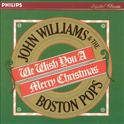 John Williams - We Wish You A Merry Christmas CD (album) cover