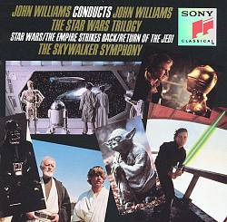 John Williams - John Williams Conducts John Williams: The Star Wars Trilogy CD (album) cover