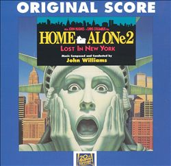 John Williams - Home Alone 2: Lost In New York CD (album) cover