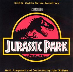 John Williams - Jurassic Park CD (album) cover