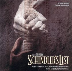 John Williams - Schindler's List CD (album) cover