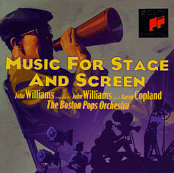 John Williams - Music For Stage And Screen CD (album) cover