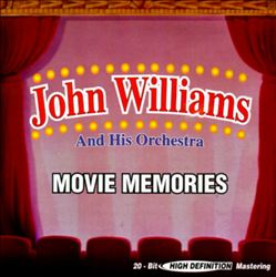 John Williams - Movie Memories CD (album) cover