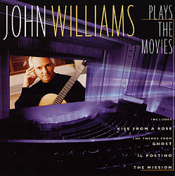 John Williams - John Williams Plays The Movies CD (album) cover