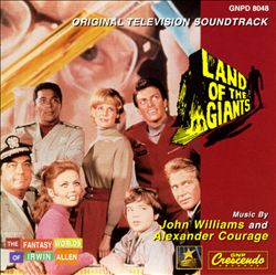 John Williams - Land Of The Giants CD (album) cover