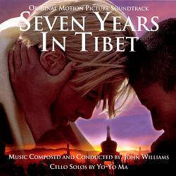 John Williams - Seven Years In Tibet CD (album) cover