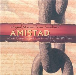 John Williams - Amistad CD (album) cover