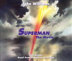 John Williams - Superman: The Movie (20th Anniversary Special Edition) CD (album) cover