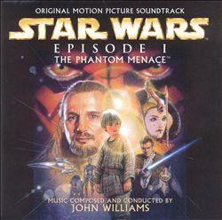 John Williams - Star Wars Episode I: The Phantom Menace CD (album) cover