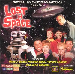 John Williams - Lost In Space, Vol. 3 CD (album) cover