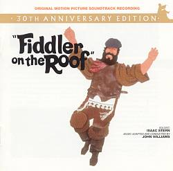 John Williams - Fiddler On The Roof CD (album) cover