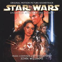 John Williams - Star Wars Episode Ii: Attack Of The Clones CD (album) cover