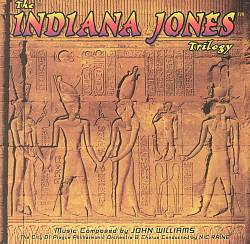 John Williams - The Indiana Jones Trilogy CD (album) cover