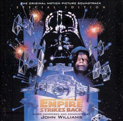 John Williams - Star Wars Episode V: The Empire Strikes Back CD (album) cover